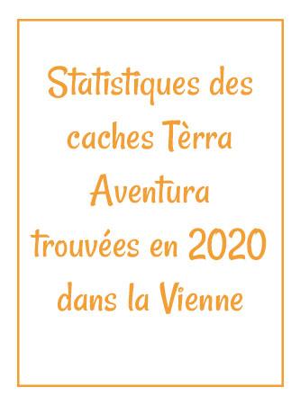 Statistiques terra aventura dans la Vienne en 2020
